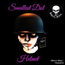 DOT Matte Black Military Helmet