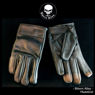Mens Leather Riding Gloves