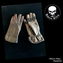 Ladies Genuine Leather Riding Gloves