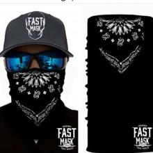 Black Face Mask With Design