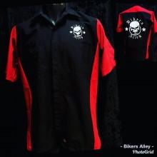 Blk/Red Workshirt