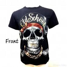 Oldschool Skull T Shirt